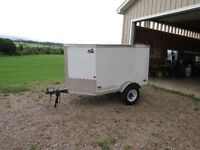 Brand New 6'x8' V nose Covered Wagon Enclosed trailer