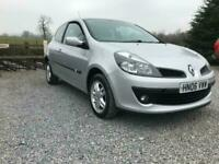 2006 Renault Clio DYNAMIQUE DCI FUEL EFFICENT COST EFFICTIVE CAR ONLY 30 A YEAR