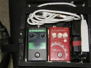 Vocal effects pedals