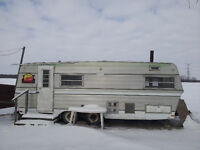 Mobile Snowmobile/Bush Shack