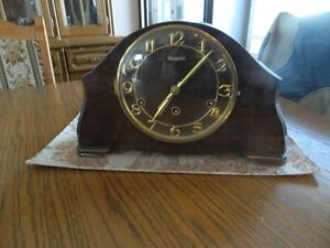 Black Forest Mantel Clock with Westminster Chime