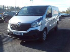 Renault Trafic SL27 swb Flat Roof Business 115ps DIESEL MANUAL SILVER (2016)