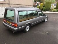 HEARSE VOLVO, LOVELY CAR.UNUSUAL IN SILVER, REALLY NICE CONDITION