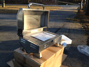 MARINE BBQs, NEW IN BOXES, STAINLESS STEEL, PROPANE