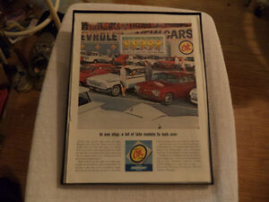 OLD CLASSIC CAR GAS STATION AD Windsor Region Ontario image 3