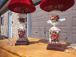 Pair of table lamps London Ontario image 3