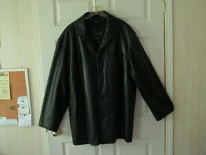 Men's Bkl. Leather Jacket