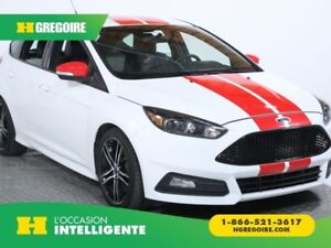 2016 Ford Focus ST TURBO A/C CUIR NAV MAGS
