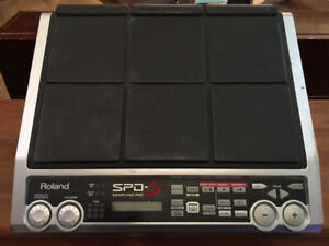 Roland SPD-S Sampling Pad with Stand Mount
