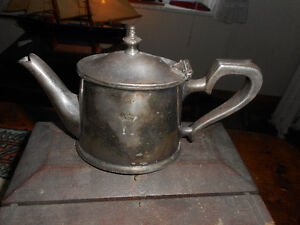 SILVER PLATE TEAPOT FROM SS NORTHUMBERLAND
