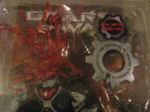 GEARS OF WAR Headshot Locust Drone Action Figure with COG Tags Edmonton Edmonton Area image 3