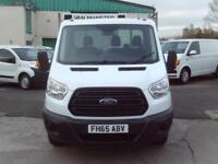 Ford Transit T350 13ft 6 Dropside 125ps DIESEL MANUAL WHITE (2016)
