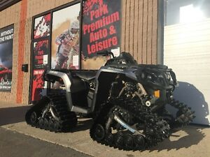 2013 Can Am Outlander 650 XTwith tracks for only $79 Bi-weekly!!