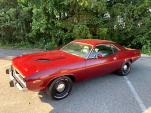 1974 cuda, 360 4spd pistol,grip,matching numbers, ralley dash