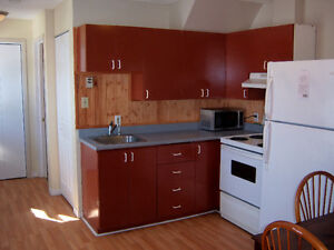 Bachelor apartment available May 1 in Campbellton.