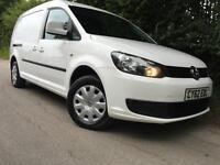 2012/62 Volkswagen Caddy Maxi 1.6TDI (102PS) C20 Trendline Bluemotion, 1 Owner