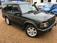 2003 '03' Land Rover Discovery TD5 Auto. Diesel. 4x4 Automatic. Px Swap