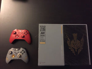 1 Tb Xbox one + two controllers and a head set