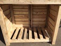 Logstore Tool shed garden