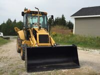 New Holland 575E Backhoe