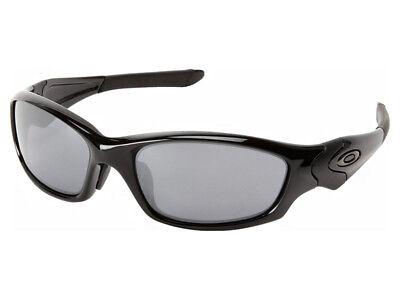 Oakley Straight Jacket Sunglasses 04-325J Polished Black/Black Iridium Asian (Straight Jacket Oakley Sunglasses)