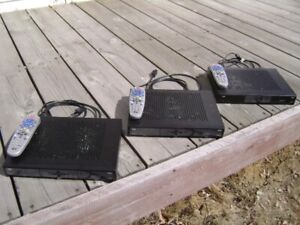 3 Bell 6131 HD Receivers