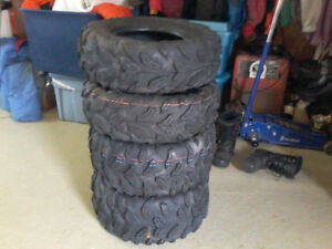 New ATV tires never used 25's and 26's full sets