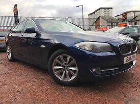 *3 MTHS WARRANTY*90%FINANCE ACCEPTED*2011(11)BMW 520D SE 6 SPEED WITH LEATHER*