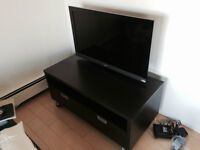 Ikea BESTA TV stand w/ drawers and casters