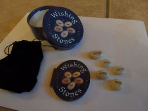 Brand new psychic wishing stones set with information booklets London Ontario image 1