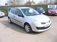 RENAULT CLIO 1.2 16v 75 Expression 3 DOOR LOW TAX AND INSURANCE.. NOW £295 OFF