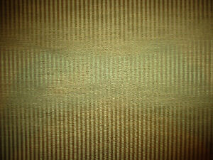 gold pinstripe faux silk fabric