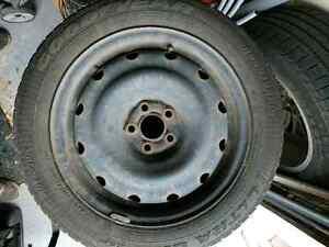 Winter tires p205/55r16 on Rim Gatineau Ottawa / Gatineau Area image 5