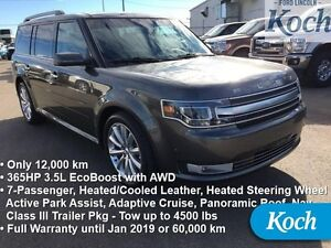 2015 Ford Flex Limited   Low kms, EcoBoost, Nav, Adap Cruise