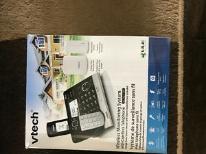 Vtech monitoring system with cordless telephone