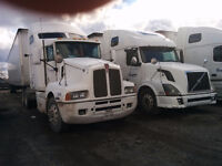 Kenworth T600 AND Volvo 670 Trucks for sale