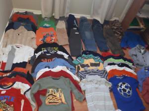 LOTS 4t/5t boy clothing(105 pcs)+FREE 24 undrewears