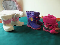 toddler girls size 5 & 6 winter boots