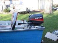 TRADE 92 MARINER (MERC) 15 HP LONGSHAFT FOR ALUMINUM BOAT