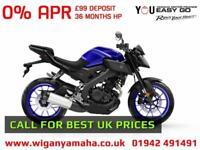 YAMAHA MT-125 ABS 2018 MODEL. 99 DEPOSIT, 36 MONTHS APR HP FINANCE...