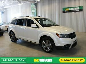 2016 Dodge Journey Crossroad AWD (Cuir-Toit-Nav-Mags-Bluetooth)