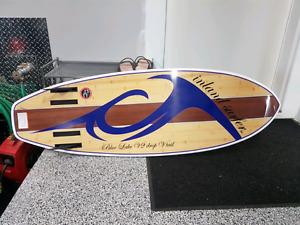 Inland Surfer Blue Lake V2 drop Vtail 2015 surf board