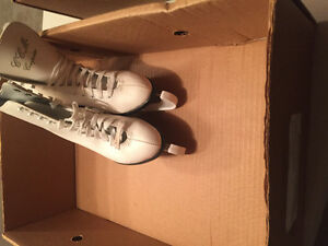 1 Men's  Hockey Skates 1 Ladies Figure Skates