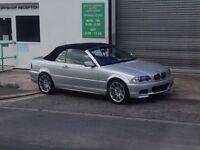 BMW 325ci convertible Titan silver msport mv2's