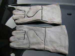 NEW HEAVY DUTY WORK OR WELDING GLOVES