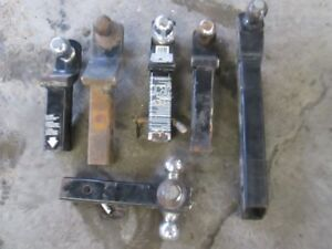 6 Trailer hitches for $120