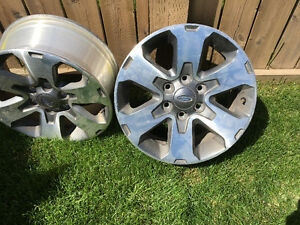 """18"""" Ford F-150 upgraded rims"""