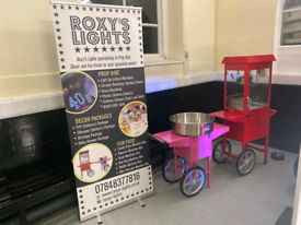 Candy Floss and Popcorn machine hire