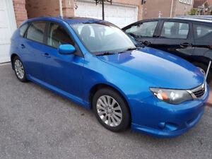Subaru Impreza sport edition