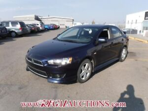 2014 MITSUBISHI LANCER GT 4D SEDAN 5SP 2.0L GT
